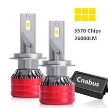 ไฟหน้ารถ H4 H7 Led 26000LM 80W CANBUS LED ไฟหน้า H7 H1 H8 H9 H11 9005 HB3 9006 HB4 6000K ไฟหน้าอัตโนมัติหมอกหลอดไฟ