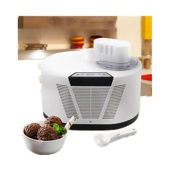 Máquina de helado de refrigeración automática 1L máquina de helado de fruta multifuncional completamente automática para hacer postres caseros DIY EU /es/UK/US