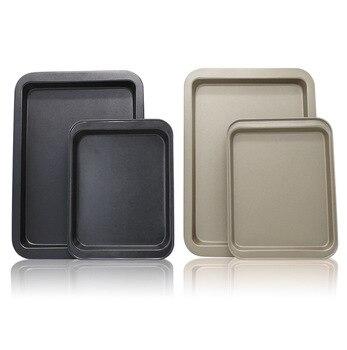Olla para Pan y tarta Rectangular antiadherente, bandeja para horno, molde para...