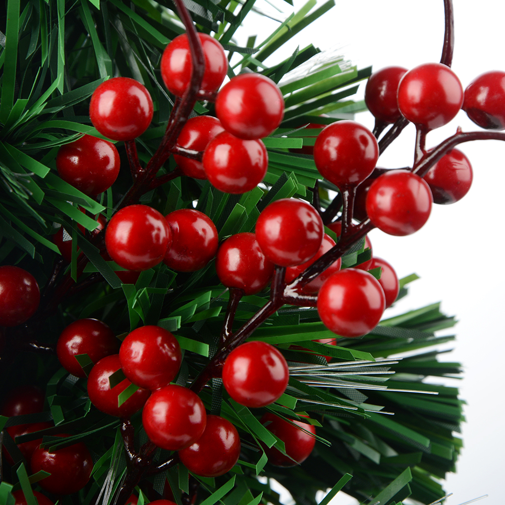 Christmas Berry Artificial Pine Cone For Christmas Decoration Fake Flower Artificial Pine Tree Branch DIY Home Party Decor-2