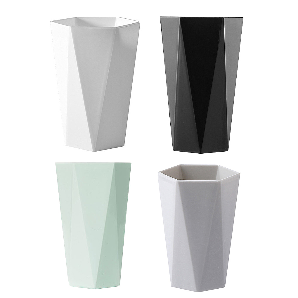 Bathroom Tumbler Wash Brush Cup Travel Toiletries Toothbrush Cup Plastic Anti-Slip Bathroom Accessories For Couple Lovers Family