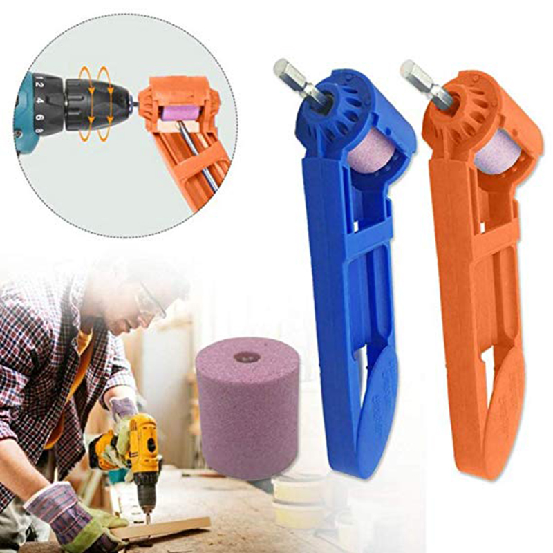 Drill Bit Sharpener Grinder Power Tool Polishing Corundum Grinding Wheel Head Engraving Tips Machine Grinding Nozzle Sharp Grind