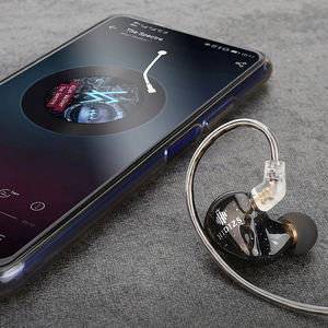 Image 5 - Hidizs MS1 קשת HiFi אודיו דינמי סרעפת ב אוזן צג אוזניות IEM עם נתיק כבל 2Pin 0.78mm מחבר