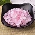 50 г/100 г натуральный розовый кварц белого цвета с украшением в виде кристаллов рудных с лечебным действием, образцы используется для аквариу...