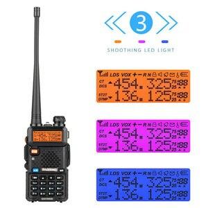 Baofeng UV-5R III Двухдиапазонная рация VHF 136-174 МГц/220-260 МГц и UHF 400-520 МГц радиосканер UV5R UV 5R, 2019