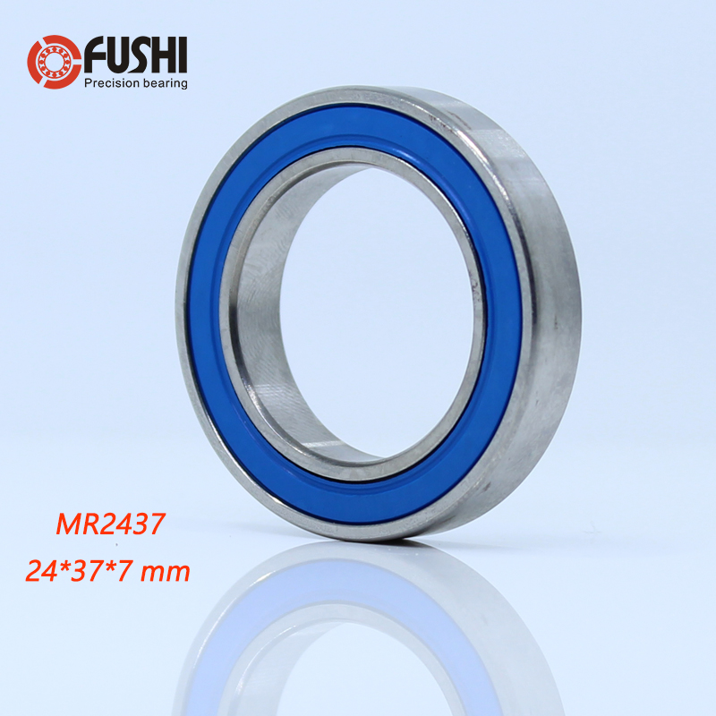 MR2437-2RS Bearing 24*37*7 Mm ( 1 PC ) ABEC-3 MR 24377 RS Bicycle BB90 Bracket Bottom 24 37 7 Balls Bearings
