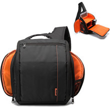 Outdoor DSLR Camera Bag One Shoulder Camera Backpack Waterproof Photo Bag Case For Sony Canon Nikon DSLR/SLR Cameras Accessories