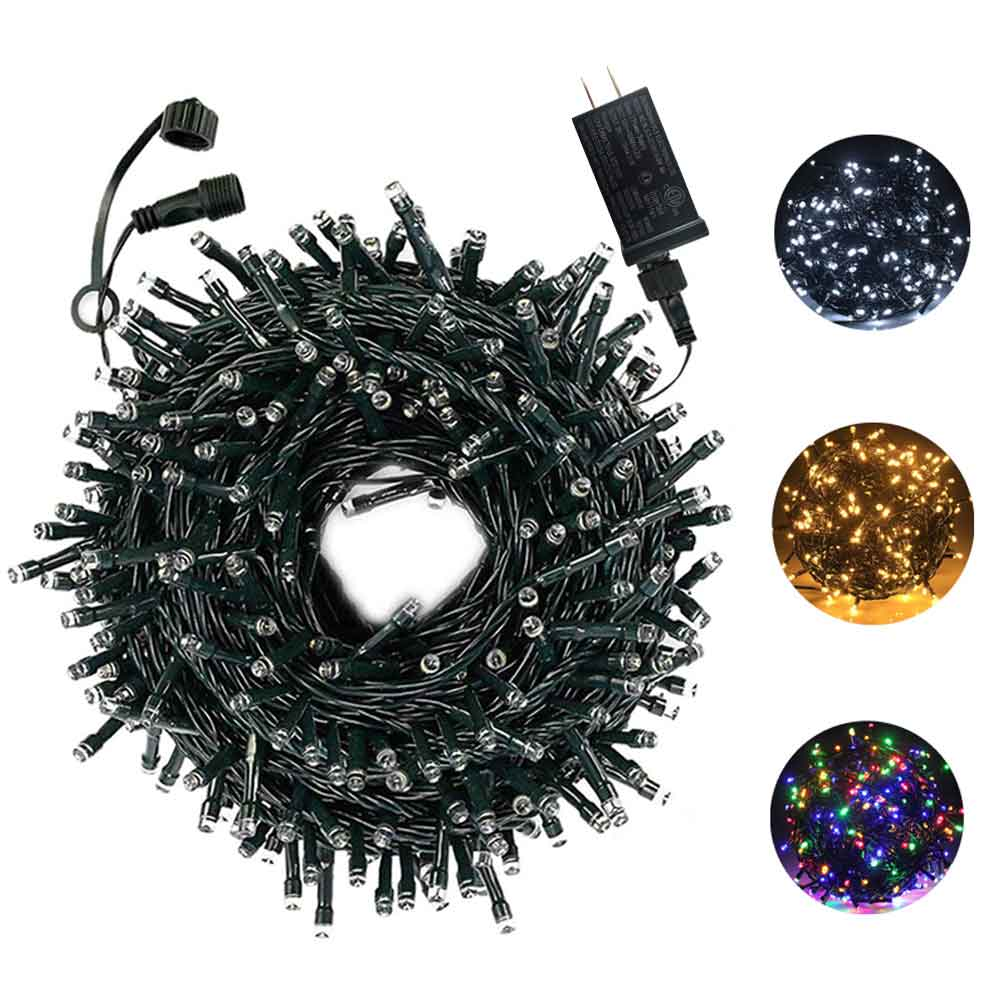 14M Fairy String Lights 200LED  Safe Voltage WaterproofOutdoor Garland For Christmas Trees Xmas Party Wedding Decoration