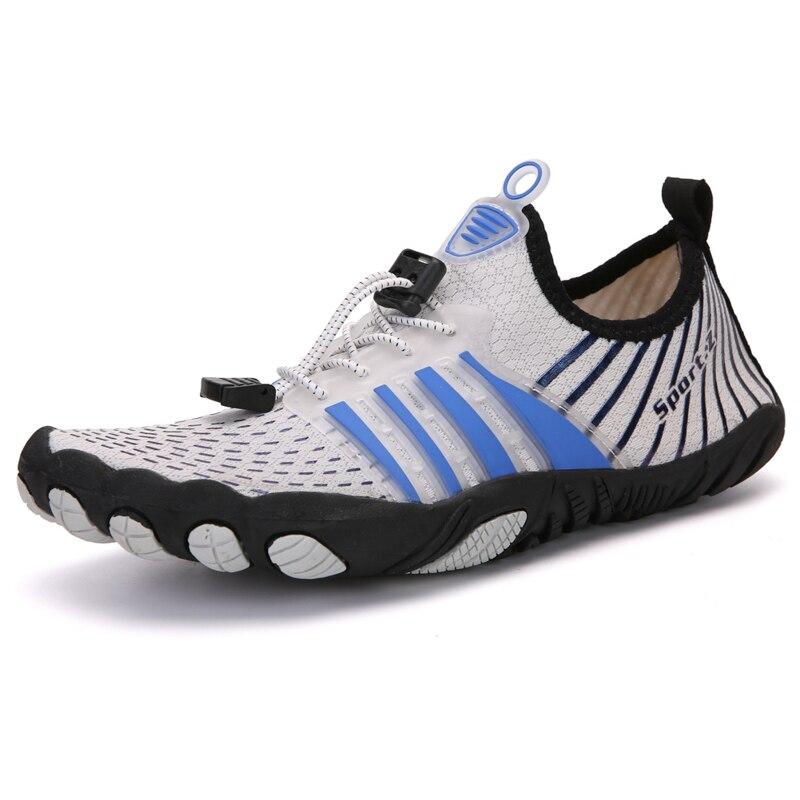 2020 унисекс крoссовки для бега для мужчин быстросохнущая дышащая спортивная Aqua женские пляжные водонепроницаемая обувь для плавания на откр...