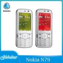 Nokia N79 ricondizionato originale Nokia N79 3G network 5MP fotocamera WIFI GPS cellulari garanzia di un anno ricondizionato