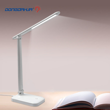 LED Foldable Desk Lamp USB Rechargeable Eye Protection Touch Dimmable Reading Table Lamp Led Light 3 Level Color
