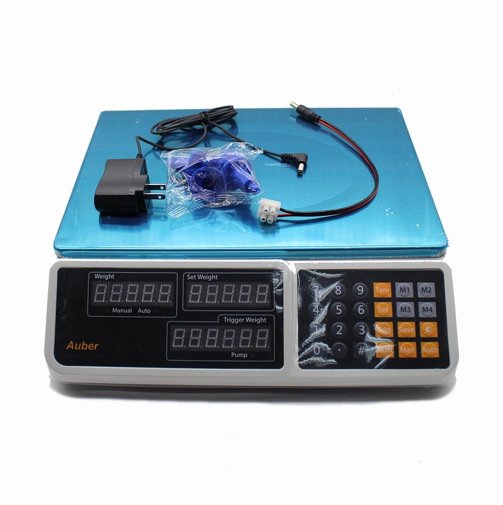 Contrôleur de poids de balance de distribution Quantitative automatique pesant le Type Machine de remplissage peseuse de poudre de particules liquides CSY-3233