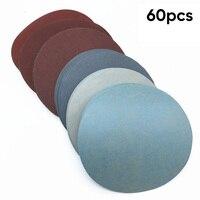 Atacado 60 peças conjunto 1000/1500/2000/3000/5000/7000/grit discos lixa gancho laço durável e prático