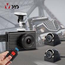 Sys 3ch 1080p грузовик видеорегистратор Даш cam Автомобильная