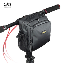цена на WOSAWE 2019 Cycling Waterproof Front Handlebar Bag Bag Big Capacity Handlebar Front Bag Bicycle Pocket Shoulder Backpack Cycling