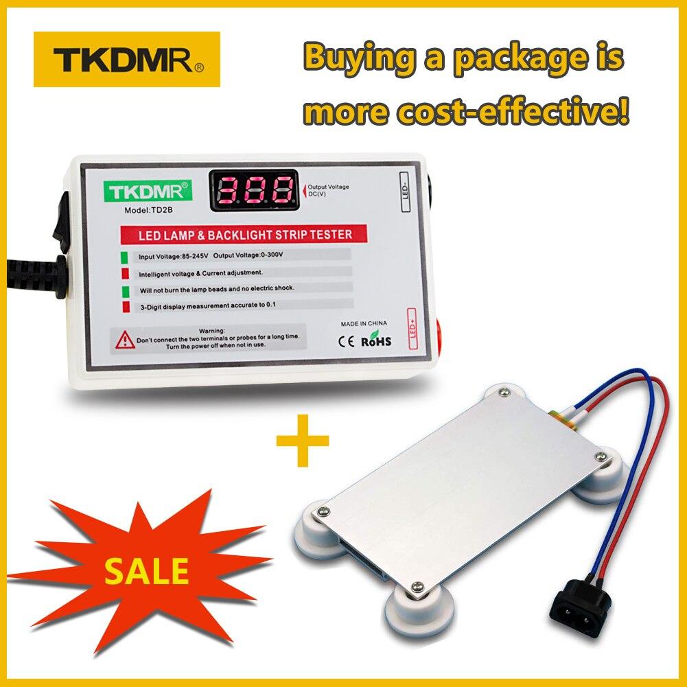 TKDMR LED מנורת חרוז תאורה אחורית בוחן לא צריך לפרק LCD מסך כל LED רצועות אורות תיקון מבחן פלט 0-300V