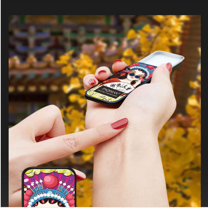 Body Ointment, Solid Ointment, Leaving Fragrance, Refreshing Men And Women, Fresh Pocket Perfume, Woman Perfume, Men's Perfume