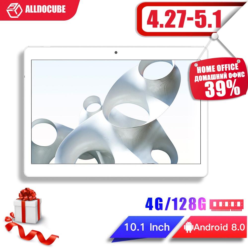 ALLDOCUBE M5X Pro планшет с 10,1-дюймовым дисплеем, четырёхъядерным процессором MTK X27, ОЗУ 4 Гб, ПЗУ 128 ГБ, 10 ядер, Android 8,0, 2560*1600 IPS