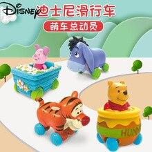 Disney children's vinyl sliding back car toy cartoon style boys and girls
