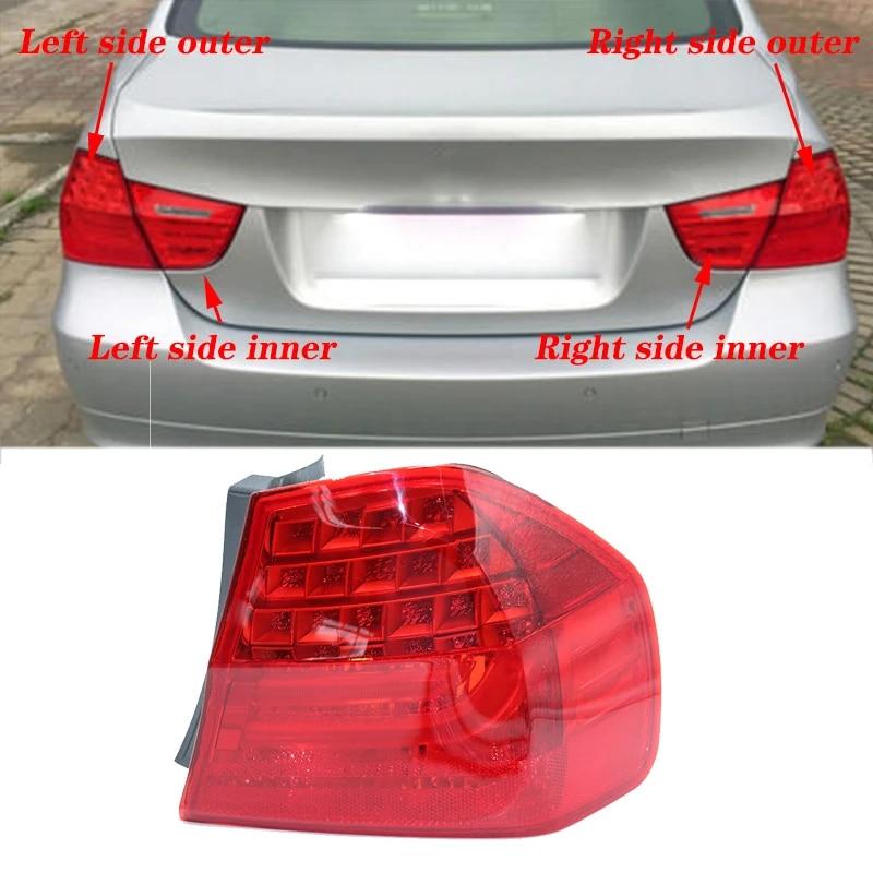 1pcs For Bmw 3 Series E90 2008 2011 Sedan Red New Rear Tail Light Rear Brake Light Stoplight Reversing Lamp Without Light Bulb Body Kits Aliexpress