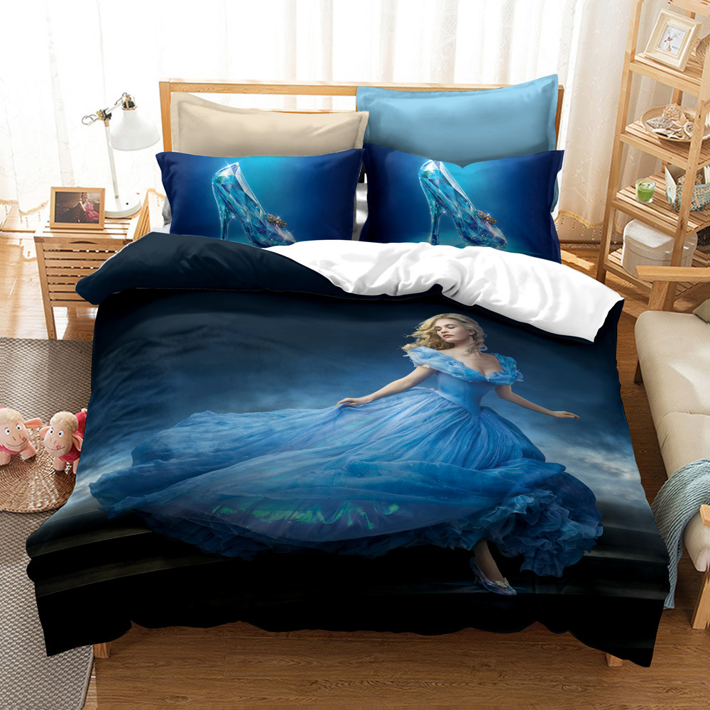 Top 10 Largest Cinderella 3d Bedding Sets Ideas And Get Free Shipping A168