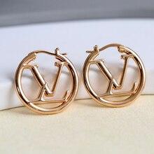 925 Silver Earrings Trendy Earrings Hoops For Women Luxury Sliver Drop Earrings Wedding Earrings Valentine's Day Gift Jewelry