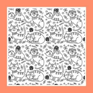 Прозрачные марки ZATWBS Happy cat для рукоделия, скрапбукинга/изготовления карт/альбома, декоративные резиновые штампы