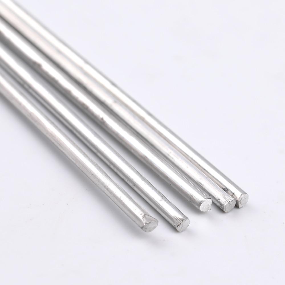 10PCS 3.2mm*230mm Low Temperature Aluminum Solder Rod Welding Wire Flux Cored Soldering Rod No Need Solder Powder