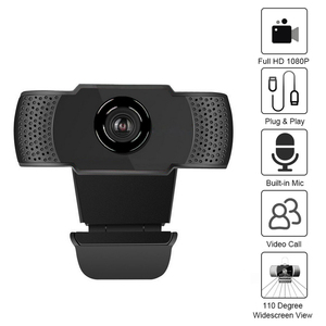 1080P/720P Wide Angle USB Webcam USB2.0 Drive-Free With Mic Web Cam Laptop Online Conference Live Video Web Cameras
