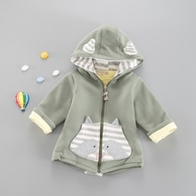Autumn Winter Baby Coats Warm Long Sleeve Toddler Clothing with Hats Thick Kids Jacket Unisex Infant Coat for Children Costume brand baby infant girls fur winter warm coat 2018 cloak jacket thick warm clothes baby girl cute hooded long sleeve coats jacket