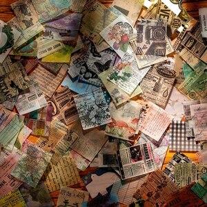 356 листов Ретро Старые страницы книги растительный коллаж материал бумага мусор Журнал Планировщик для скрапбукинга винтажные декоративны...