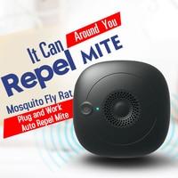 Hot Ultrasonic Pest Repeller Plug in Electronic Dust Mite Bed Bug Killer for Household D6 Repellents    -