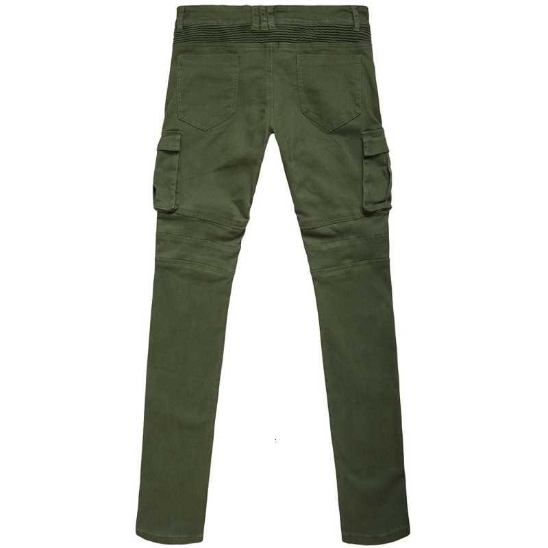 2020 新しいドライメンズパンツポケット全身男性ヒップホップジョギングパンツプラスサイズのズボン男性ジッパー倍ストレッチジーンズ綿