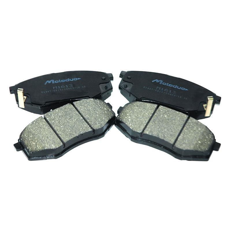 Car Front ceramic brake pad suit for Hyundai MISTRA(2012-)  IX25 (2015-) For Kia K4(2013-) KX3 (2014-) 581012SA00