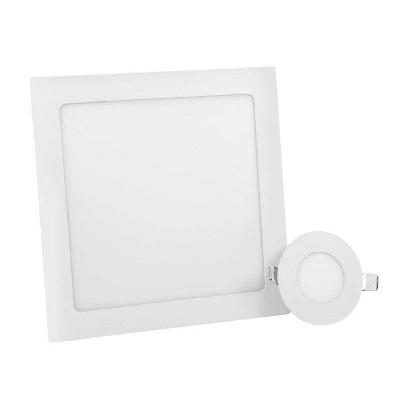 LED panneau lumineux 3W 4W 6W 9W 12W 15W 18W rond panneau carré LED Spot lumière AC110V 220V plafonnier intérieur encastré Downlight