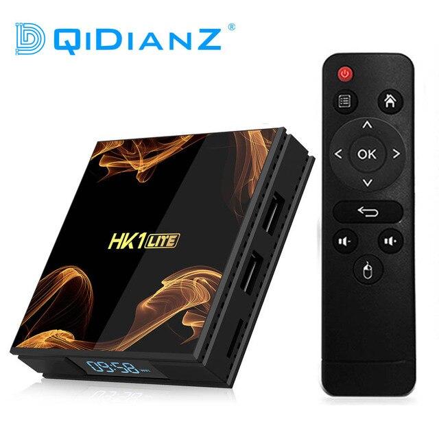 HK1Lite Android 9.0 Smart Tv Box 2 Gb DDR3 16 Gb 2.4G Wifi 4K RK3228A Quad Core H.265 media Speler Pk Hk1mini X96