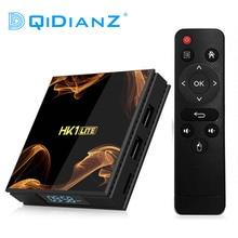HK1Lite Android 9.0 akıllı TV kutusu 2GB DDR3 16GB 2.4G WiFi 4K RK3228A dört çekirdekli H.265 medya oynatıcı PK hk1mini x96