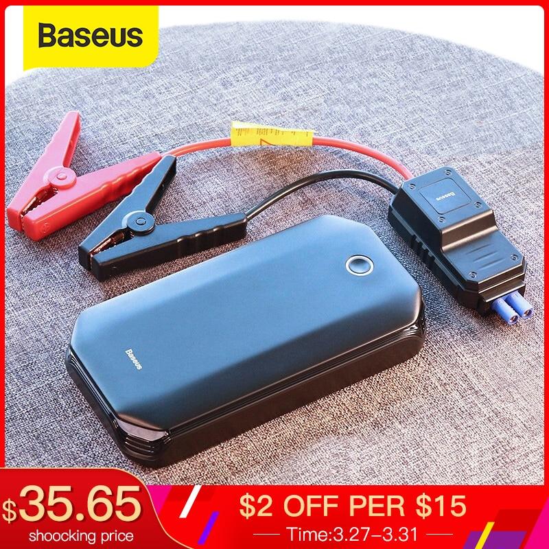 Baseus Car Jump Starter Starting Device Battery Power Bank 800A Jumpstarter Auto Buster Emergency Booster Car Charger Jump Start