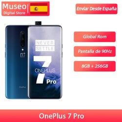 Смартфон OnePlus 7 Pro с глобальной прошивкой, 48 МП, Восьмиядерный процессор Snapdragon 855, 8 ГБ, 256 ГБ, 6,67 дюйма, 2K + жидкий AMOLED экран UFS 3,0 NFC