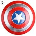 Металлический Железный щит для Стивена Роджерса, реквизит для косплея, большой металлический щит для супергероев, подвесные украшения, муж...