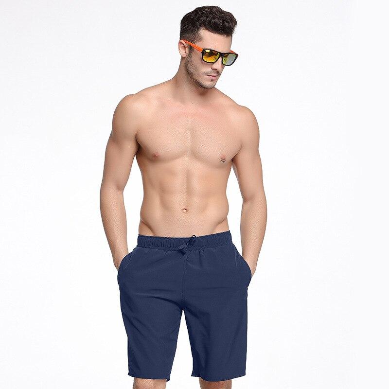 Sbart Men Four Beach Shorts Large Size Quick-Dry Seaside Drifting Swimming Trunks Men's Hot Springs Pants