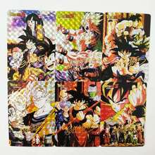 18pcs/set Dragon Ball Z Bronzing Signature Super Saiyan Goku Vegeta Hobby Collectibles Game Anime Collection Cards