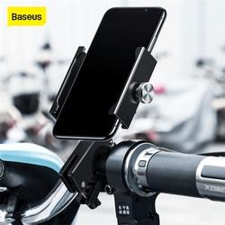 Baseus uchwyt na telefon do telefonu iPhone Samsung uchwyt na kierownicę do roweru GPS stojak na motocykl uniwersalny uchwyt na telefon komórkowy