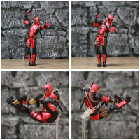 Deadpool Exclusive Action Figure with Custom Weapons 6inch. 4
