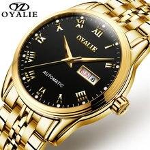 Мужские часы роскошного бренда сапфировые водонепроницаемые