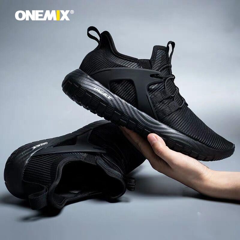 Onemix Summer Sport For Men Breathable Running Shoes Unisex Walking Jogging Shoes Light Training Sneakers Bigger Size47