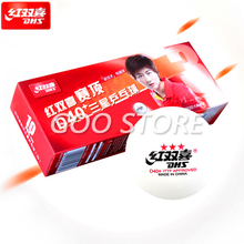 Table-Tennis-Balls DHS Abs-Plastic Seamed Ping-Pong-Ball D40 3-Star Poly New-Material