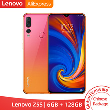 Global ROM Lenovo Z5S Z5 S Snapdragon 710 Octa Core 6GB 128GB Smartphone Gezicht ID 6.3inch Android P Triple Achteruitrijcamera
