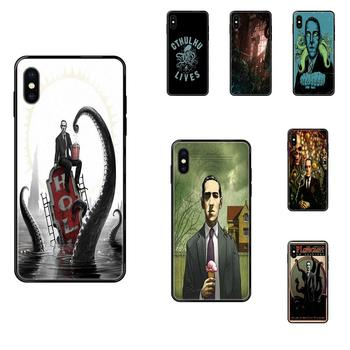 Soft Phone Skin For Samsung Galaxy S20 S10e S10 S9 S8 S7 S6 S5 edge Lite Plus Ultra Cool Lovecraft Film Festival image
