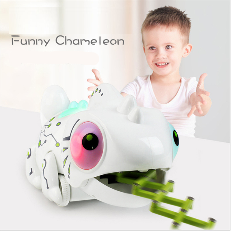 2.4G robot intelligence intelligent remote control eating insects chameleon toy